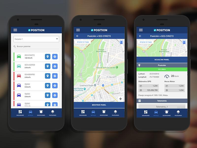 Position App móvil