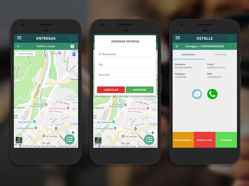 Route App móvil