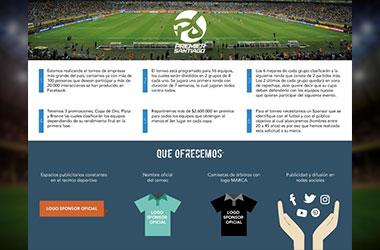 Sponsor Liga Premier Santiago