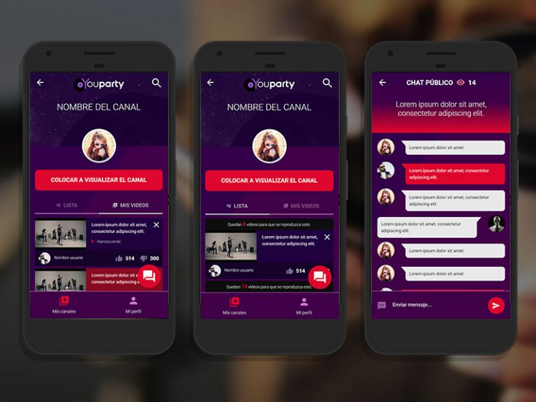 Youparty app mobile